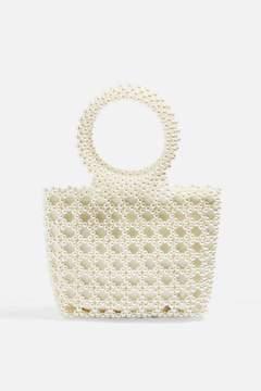 Topshop Peggie Pearl Tote Bag