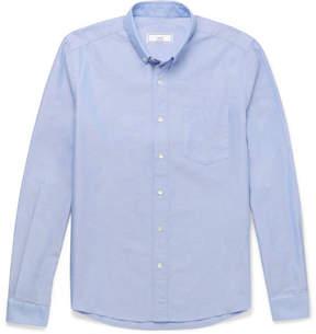 Ami Slim-Fit Button-Down Collar Cotton Oxford Shirt