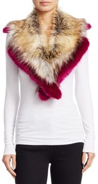 Dries Van Noten Ginny Faux Fur Scarf