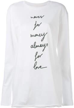 Damir Doma Taya longsleeved T-shirt