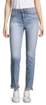 Joe's Jeans Charlie Frayed Straight-Leg Jeans