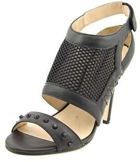 Nicole Miller Addison Women Open-toe Leather Slingback Heel.