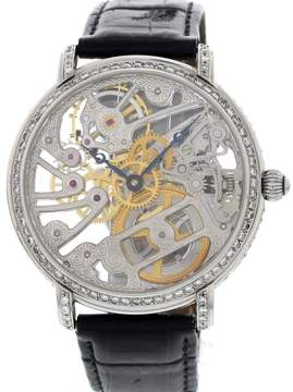 Maurice Lacroix 16807 Diamonds Masterpiece Skeleton Mens Watch