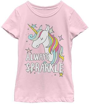 Fifth Sun Pink 'Always Sparkle' Tee - Girls
