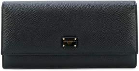 Dolce & Gabbana foldover purse - BLACK - STYLE