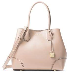 MICHAEL Michael Kors Mercer Gallery MD Leather Center Zip Tote