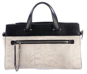 Barbara Bui Embossed Leather Penny Lane Bag