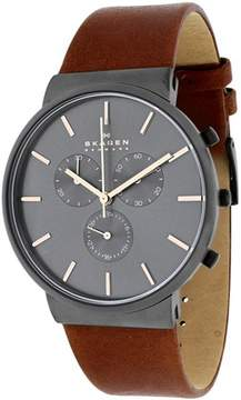 Skagen Ancher Collection SKW6106 Men's Analog Watch with Chronograph