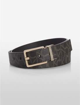 Calvin Klein logo reversible belt