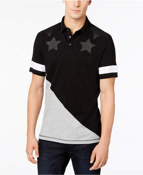 INC International Concepts I.n.c. Men's Spangled Polo, Created for Macy's