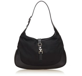 Gucci Pre-owned: Nylon Jackie. - BLACK - STYLE