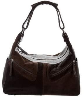 Tod's Nubuck & Ponyhair Shoulder Bag