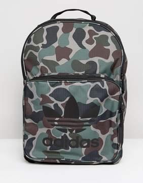 Adidas adidas Originals Classic Backpack In Camo