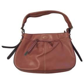 Lancel Camel Leather Handbag