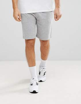 New Look Jersey Shorts In Gray