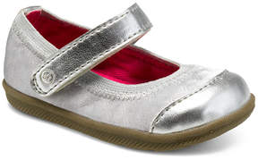 Stride Rite Baby Girls' Cecilia Leather Prewalker Shoe