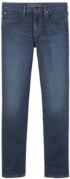 Banana Republic Slim Traveler Blue Ink Wash Jean