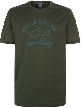 Paul & Shark Classic Tonal Logo T-Shirt