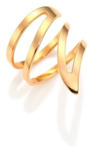 ginette_ny Wise Large 18K Rose Gold Ring
