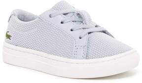 Lacoste L.12.12 Woven Sneaker (Toddler)