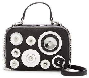 Milly Mini Leather Disc Satchel