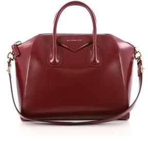 Givenchy Pre-owned: Antigona Bag Glazed Leather Medium.