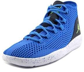 Jordan Reveal Men Round Toe Leather Blue Sneakers.