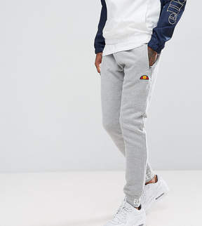 Ellesse Skinny Joggers With Repeat Logo Cuff