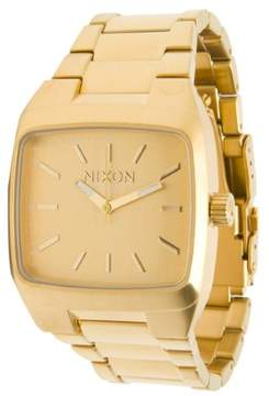 Nixon Manual Watch - Men's All Gold, One Size