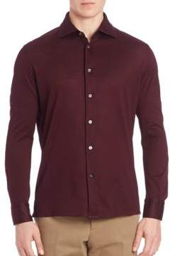 Luciano Barbera Cotton Pique Shirt