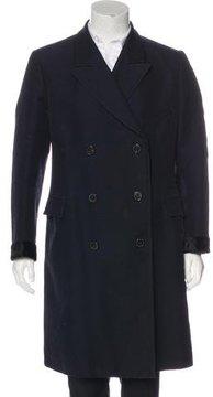 Dries Van Noten Wool-Blend Car Coat