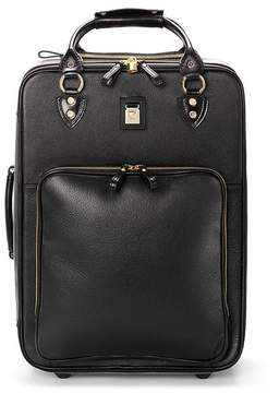Aspinal of London Large Cabin Case In Black Pebble