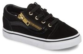 Vans Infant Girl's Old Skool Zip Sneaker
