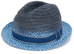 Paul Smith Men's Blue Viscose Hat.