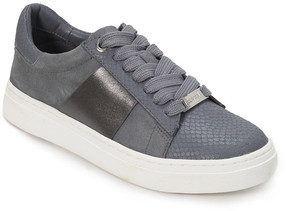Foot Petals Denim Blue Fallon Leather Sneaker - Women