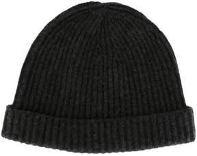 N.Peal ribbed hat