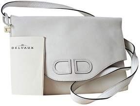 Delvaux White Leather Handbag