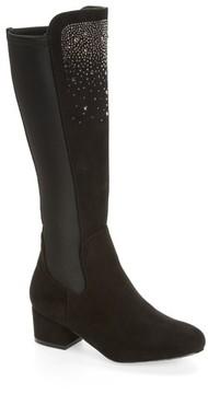 Stuart Weitzman Girl's Bacari Crystal Embellished Boot