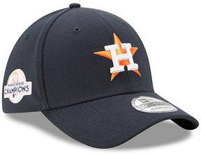 New Era Boys' Houston Astros Team Classic 2017 World Series Champ 39THIRTY Patch Cap