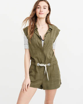 Abercrombie & Fitch Utility Romper