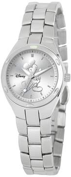 Disney Disney's Mickey Mouse Silhouette Women's Stainless Steel Watch