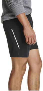 Joe Fresh Men's Lined Running Active Shorts, Black (Size M)