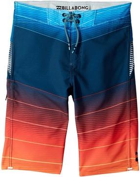 Billabong Kids - Fluid X Boardshorts Boy's Swimwear