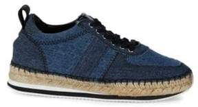 McQ Lace-Up Espadrilles