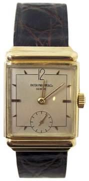 Patek Philippe 18K Yellow Gold Vintage 24.7mm Mens Watch 1940