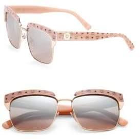 MCM Visetos 56MM Rectangle Sunglasses