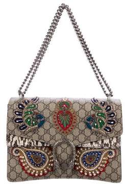 Gucci 2016 Medium Embroidered Dionysus Shoulder Bag
