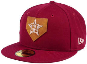 New Era Houston Astros The Logo of Leather 59FIFTY Fitted Cap