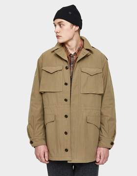 Beams M-43 Field Jacket in Khaki
