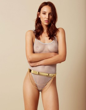 Agent Provocateur Jocasta Belt Gold
